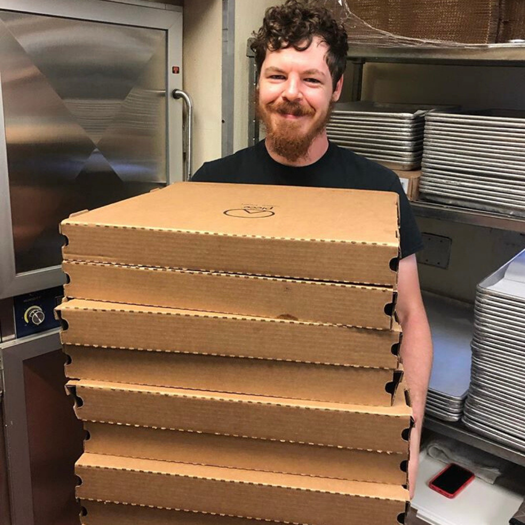 The Pizza Man Delivers: Providing Chicagoans Food and Comfort During the COVID-19 Coronavirus Crisis