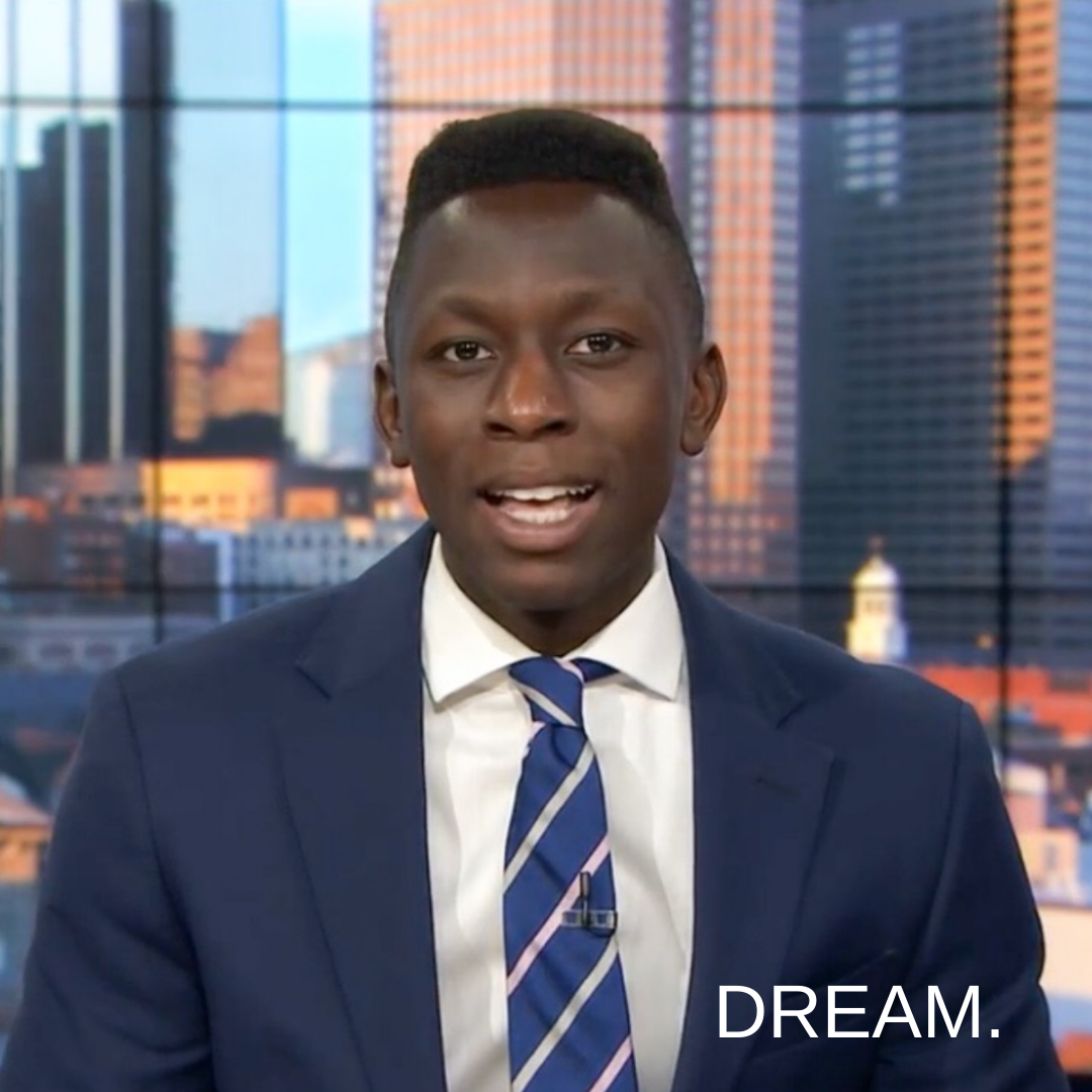 Living His Dreams Reporting TV News